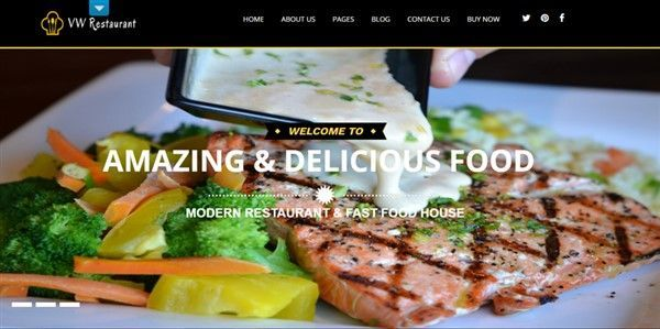 restaurante tema wordpress