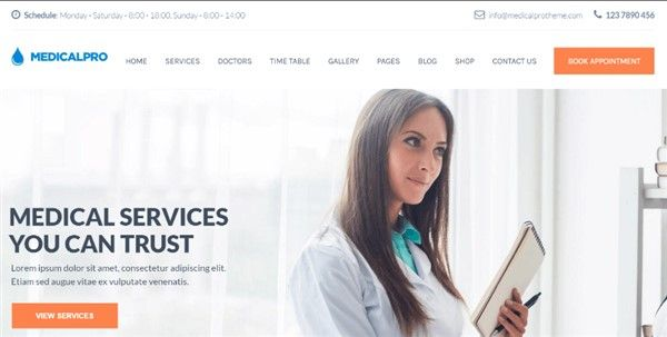 temas wordpress clinica