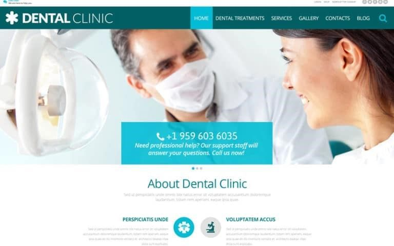 salud dental wp themes mejores