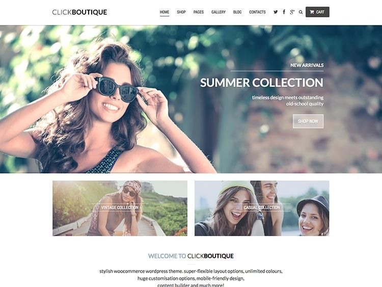 wordpress themes mejores boutique