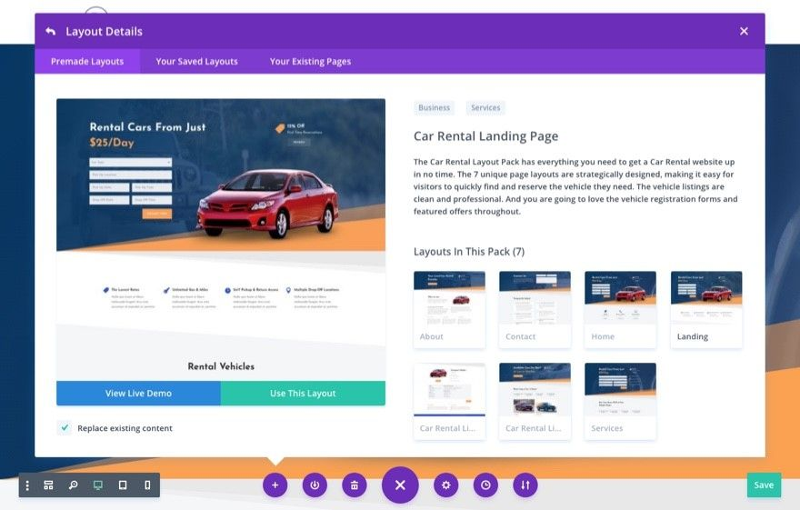 wordpress themes mejores alquiler limusinas y coches