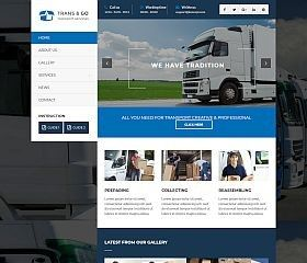 tema wordpress empresas de transporte