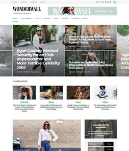 wordpress theme magacine