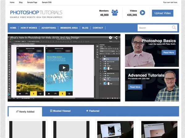 plantillas de wordpress filmmaker